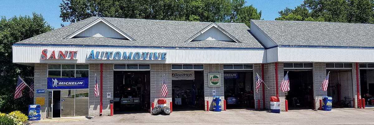 Sant Automotive car repair shop in Webster Groves